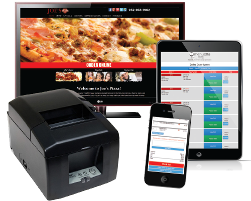 Website with Online Ordering